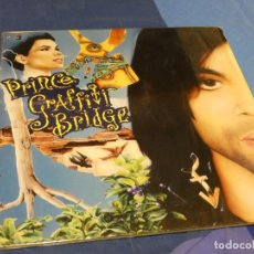 Discos de vinilo: EXPRO DOBLE LP PRINCE THE GRAFFITTI BRIDGE ACUSA CIERTAS LINEAS LEVES NO MUY MAL. Lote 221086786