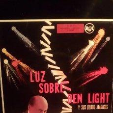 Discos de vinilo: BEN LIGHT - LUZ SOBRE .. Lote 221086941