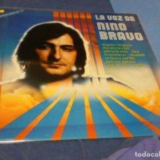 Discos de vinilo: EXPRO LP LA VOZ DE NINO BRAVO 1980 BUEN ESTADO. Lote 221087558