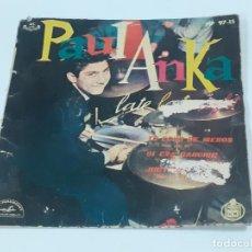 Discos de vinilo: PAUL ANKA (3337). Lote 221091898