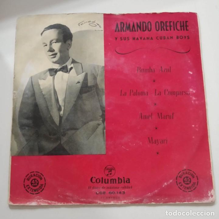 ARMANDO OREFICHE Y SUS HABANA CUBAN BOYS EP AÑOS 50 (Música - Discos de Vinilo - EPs - Grupos y Solistas de latinoamérica)