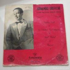 Discos de vinilo: ARMANDO OREFICHE Y SUS HABANA CUBAN BOYS EP AÑOS 50. Lote 221092287