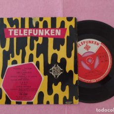 """Discos de vinilo: 7"""" LOULOU LEGRAND /FELIX VALVERT /JERRY MENGO - TELEFUNKEN TFK 22017 - SPAIN PRESS 50'S EP (EX-/EX-). Lote 221092935"""