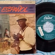 Discos de vinilo: SINGLE NAT KING COLE ESPAÑOL - ¡ÚNICO ENVÍO A FINAL DE MES!. Lote 221094382