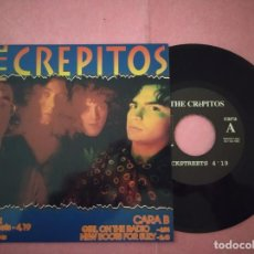 "Discos de vinilo: 7"" THE CREPITOS – BACKSTREETS / GIRL ON THE RADIO - SHANGRI-LA SHA-006 - SPAIN PRESS - EP (EX/EX). Lote 221096165"