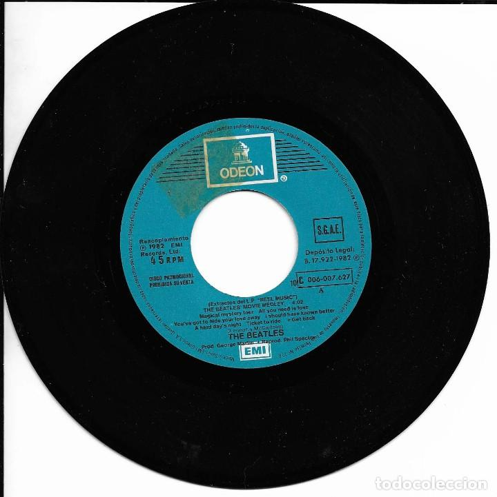 Discos de vinilo: THE BEATLES MOVIE MEDLEY EMI ODEON 1982 EDICION ESPAÑOLA - Foto 3 - 112323259