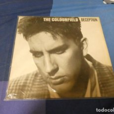 Discos de vinilo: EXPRO LP THE COLOURFIELD DECEPTION ALEMANIA 1987 MUY BUEN ESTADO. Lote 234886850