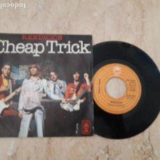 Disques de vinyle: CHEAP TRICK – RENDICION / ADIOS / SINGLE-ESPAÑA-1978- EPIC – EPC 6801-. Lote 221106661