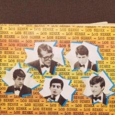 Discos de vinilo: LOS SIREX : LA ESCOBA, EL TREN DE LA COSTA, QUE HACES AQUI, CANTEMOS EP 1965. Lote 221106863