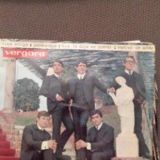 Discos de vinilo: LOS SIREX : CIAO AMIGO,JAMBALAYA,QUE TE DEJE DE QUERER,MOTIVO DE AMOR 1964. Lote 221107586