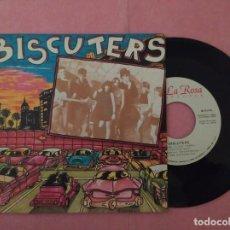 """Discos de vinilo: 7"""" BISCUTERS – NO SE LO QUE TIENES / PERO MAS - LA ROSA RECORDS 70.0051 - PROMO (EX/EX). Lote 221107666"""