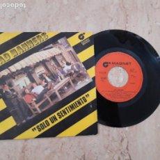Discos de vinilo: BAD MANNERS ?– SOLO UN SENTIMIENTO-SUICIDIO.-SINGLE-ESPAÑA-1980-. Lote 221107681