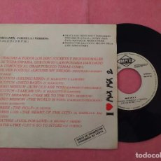 "Discos de vinilo: 7"" MAX MIX 2 - MEGAMIX FORMULA 1 VERSION - MAX MUSIC ‎S-135 - SPAIN PRESS PROMO 1SIDED (EX/EX). Lote 221108430"