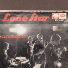 Discos de vinilo: LONE STAR: SATISFACCION (ROLLING STONES, WOOLY BULLY,MUY LEJOS DE AQUI,AQUI EN MI NUBE 1965. Lote 221108815