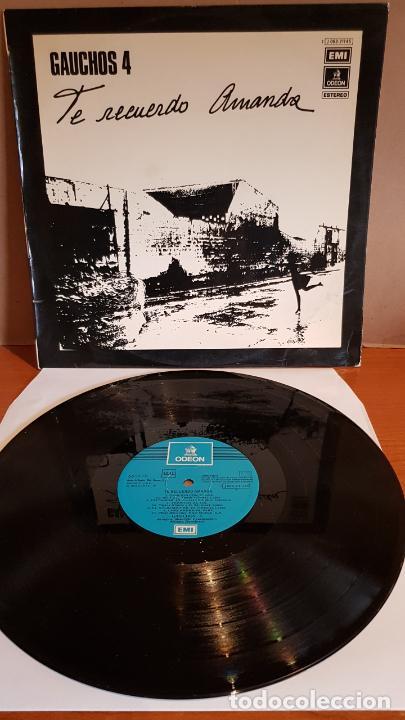 GAUCHOS-4 / TE RECUERDO AMANDA / LP - EMI-ODEON-1975 / MBC. ***/*** (Música - Discos - LP Vinilo - Grupos y Solistas de latinoamérica)