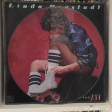 Discos de vinilo: LINDA RONSTADT LIVING IN NEW YORK LP 1978 PICTURE DISC RARO Y PRECIOSO ORIG AÑOS 70. Lote 221109800