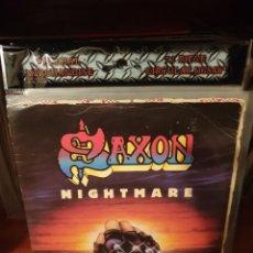 Discos de vinilo: SAXON / NIGHTMARE / CARRERE 1983. Lote 221115043