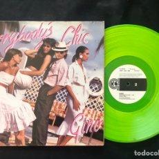 Discos de vinilo: GINO – EVERYBODY IS CHIC RARO. Lote 221116108