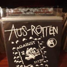 Discos de vinilo: AUS - ROTTEN / FUCK NAZI SYMPATHY / HAVOC RECORDS. Lote 221118498