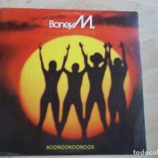 Discos de vinilo: BONEY M, BOONOONOONOOS, 1981. Lote 221118572