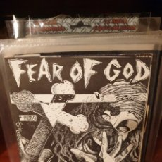 Discos de vinilo: FEAR OF GOD / FEAR OF GOD / TEMPLE OF LOVE RECORDS. Lote 221122065