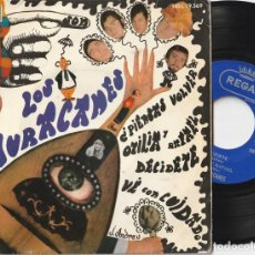 Discos de vinilo: LOS HURACANES - DECIDETE + 3 (EP EMI-REGAL 1968). Lote 221122216
