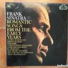 Discos de vinilo: FRANK SINATRA - ROMANTIC SONGS FROM THE EARLY YEARS (LP) 1966. Lote 221125286