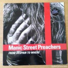 "Discos de vinilo: MANIC STREET PREACHERS - FROM DESPAIR TO WHERE - MAXI-SINGLE 12"". 1993 ALTERNATIVE ROCK. Lote 221127287"