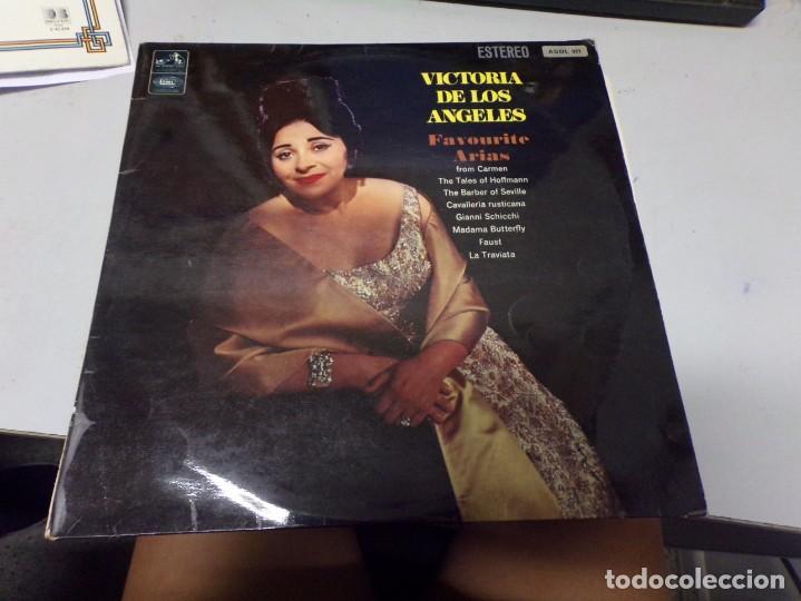 DISCO FIRMADO - VICTORIA DE LOS ANGELES - FAVOURITE ARIAS (Música - Discos - LP Vinilo - Otros estilos)