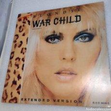 Discos de vinilo: BLONDIE - WAR CHILD. Lote 221129143