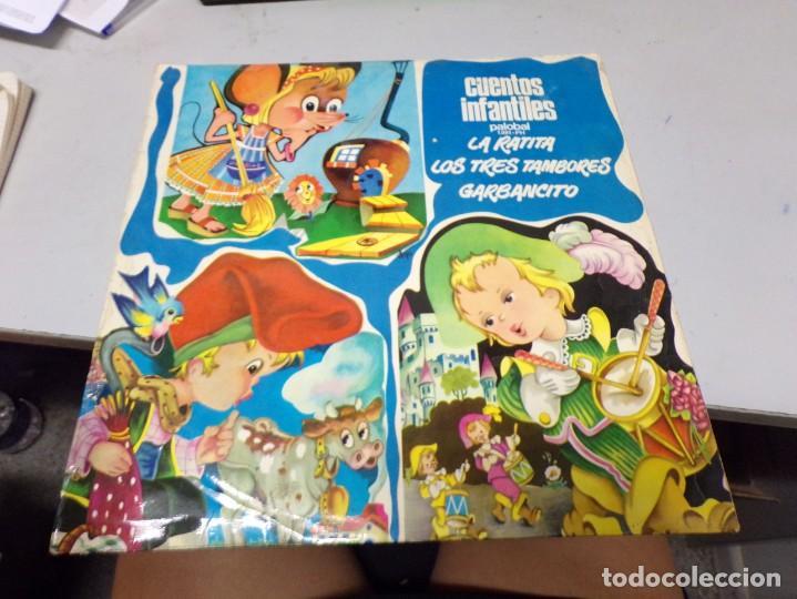 CUENTOS INFANTILES - PALOBAL - LA RATITA PRESUMIDA . LOS TRES TAMBORES , GARBANCITO (Música - Discos - Singles Vinilo - Música Infantil)