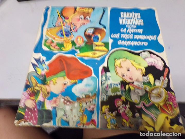 Discos de vinilo: cuentos infantiles - palobal - la ratita presumida . los tres tambores , garbancito - Foto 3 - 221130770
