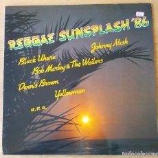 Discos de vinilo: VARIOS ARTISTAS: REGGAE SUNSPLASH '86. LP VINILO. REGGAE DANCEHALL 1986. Lote 221130842