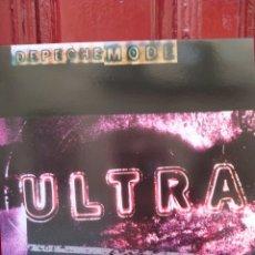 Discos de vinilo: DEPECHE MODE. ULTRA. LP VINILO COLOR VERDE. NUEVO -. Lote 221133772