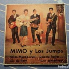 Discos de vinilo: MIMO Y LOS JUMPS: POP ESPAÑOL DE LOS 60S TWIST RARO EP DE PHILIPS -BEATLES-OPORTUNIDAD Y OFERTA. Lote 221133807