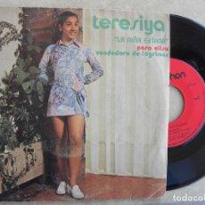 Discos de vinilo: TERESIYA (LA NIÑA GITANA) - PARA ELISA - VENDEDORA DE LAGRIMAS -SINGLE 1971. Lote 221138195