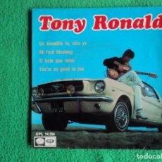Discos de vinilo: TONY RONALD: EP CHICO YE YE DE LOS 60S BEATLES -OFERTA DEL MES COLECCIONISTAS. Lote 221139357
