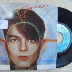 Discos de vinilo: TINO -SI VIENES ESTA NOCHE A BAILAR -SINGLE 1984 -PEDIDO MINIMO 3 EUROS. Lote 221139678