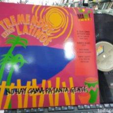 Discos de vinilo: TREMENDOS ÉXITOS LATINOS MAXI GRAN COMBO,BLADES,ALEX BUENO Y RAPHY LEAVITT ESPAÑA 1991. Lote 221140386