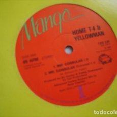 Discos de vinilo: HOME T-4 & YELLOWMAN MR. CONSULAR. Lote 221143375