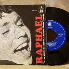 Discos de vinilo: RAPHAEL - YO SOY AQUEL - ES VERDAD- LA NOCHE - HASTA VENECIA. Lote 221143590