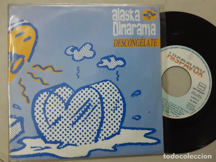 ALASKA Y DINARAMA, DESCONGELATE, X LAS DOS CARAS, PROMO ONLY (Música - Discos - Singles Vinilo - Grupos Españoles de los 70 y 80)