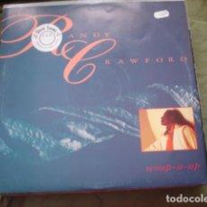 Discos de vinilo: RANDY CRAWFORD WRAP-U-UP. Lote 221148808