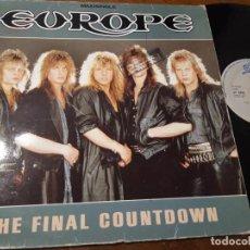 Disques de vinyle: EUROPE- THE FINAL COUNTDOWN - ESPAÑA 1986-MAXI. Lote 221150868