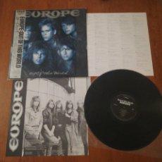 Discos de vinilo: VINILO EDICIÓN JAPONESA DEL LP DE EUROPE OUT OF THID WORLD. Lote 221151772