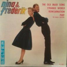 Discos de vinilo: NINA & FREDERIK. EP. SELLO BELTER. EDITADO EN ESPAÑA. AÑO 1965. Lote 221156736