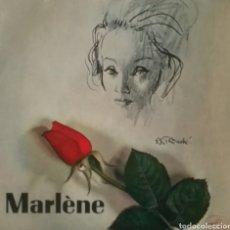 Discos de vinilo: MARLENE. EP. SELLO LA VOZ DE SU AMO. EDITADO EN FRANCIA.. Lote 221160925