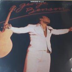 Discos de vinilo: GEORGE BENSON WEEKEND IN L.A. DOBLE LP. Lote 221169438
