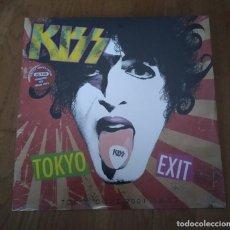 Discos de vinilo: LP KISS – TOKYO EXIT. AÑO 2014. LIMITADO 150 COPIAS, VINILO COLOR ROJO.. Lote 221170916