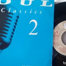Discos de vinilo: E P ( VINILO) -PROMOCION- SOUL CLASSICS 2. Lote 221229221